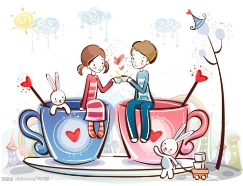 Miłość to piękne uczucie. Warto mówić o miłości.