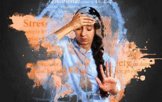 depresja, stress, złe samopoczucie